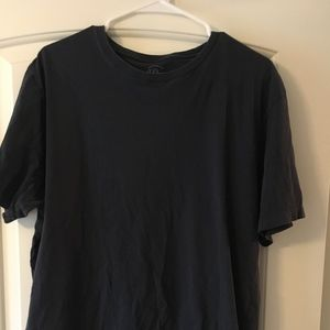 J. Crew dark blue broken-in tee - TALL